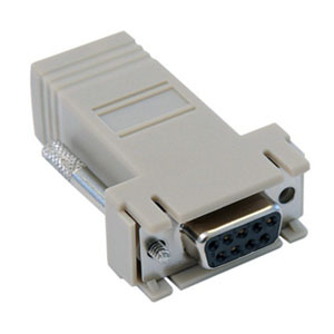 DB9 Female to RJ45 Modular Adapter